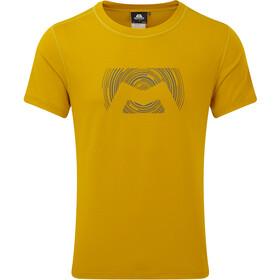 Mountain Equipment Groundup Logo+ T-shirt Herrer, acid